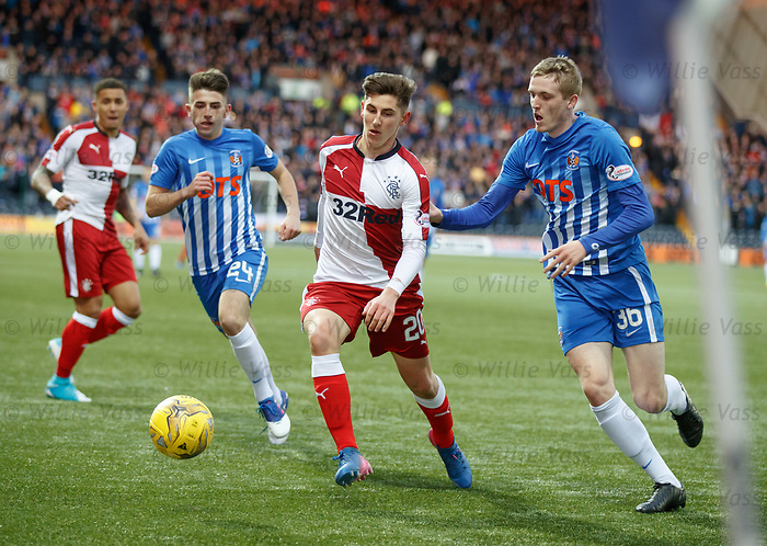 Emerson Hyndman with Greg Taylor and Iain Wilson