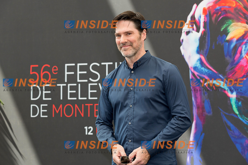 Thomas GIBSON, Criminal Minds <br /> Monaco Montecarlo 14-06-2016 <br /> 56th Monaco TV Festival - Photocall Opening Ceremony <br /> Foto Nicolas Gavet Panoramic / Insidefoto