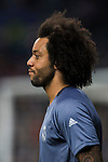 Marcelo Vieira Da Silva of Real Madrid looks on during training prior to the 2016-17 UEFA Champions League match between Real Madrid and Legia Warszawa at the Santiago Bernabeu Stadium on 18 October 2016 in Madrid, Spain. Photo by Diego Gonzalez Souto / Power Sport Images