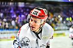 Leo Pfoederl in dem Spiel in der DEL, EHC Red Bull Muenchen (blau) - Nuernberg Ice Tigers (weiss).<br /> <br /> Foto &copy; PIX-Sportfotos *** Foto ist honorarpflichtig! *** Auf Anfrage in hoeherer Qualitaet/Aufloesung. Belegexemplar erbeten. Veroeffentlichung ausschliesslich fuer journalistisch-publizistische Zwecke. For editorial use only.