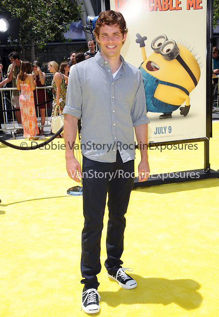 James Marsden at theUniversal Pictures' World Premiere of Despicable Me held at the Los Angeles Film Festival at Nokia Live in Los Angeles, California on June 27,2010                                                                               © 2010 Debbie VanStory / Hollywood Press Agency
