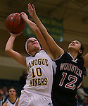 Images from the JV girls basketball game between Wooster and Manogue at Manogue on Friday, Feb. 8, 2013, in Reno, Nev. Manogue won 52-28..Photo by Cathleen Allison