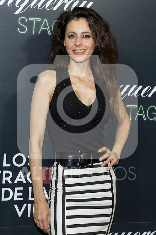 "Yolanda Font during the premiere of ""Los tragos de la vida"" directed by Daniel Guzman at Infanta Isable theatre in Madrid. October 05, 2016. (ALTERPHOTOS/Rodrigo Jimenez)"