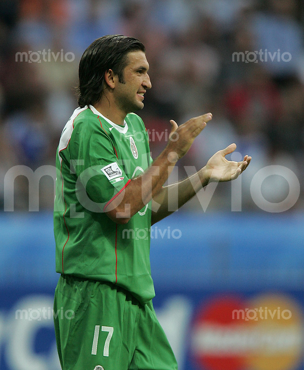 Fussball International FIFA Confederations Cup 2005 Griechenland - Mexiko Jose Fonseca (MEX)