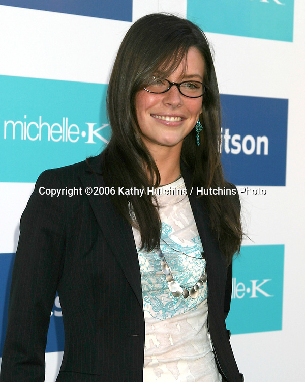 Evangeline Lilly.Evangeline Lilly is celebrated as the New Face of Michelle K Footwear at a party at Kitson Boutique.W. Hollywood, CA.June 15, 2006.©2006 Kathy Hutchins / Hutchins Photo....