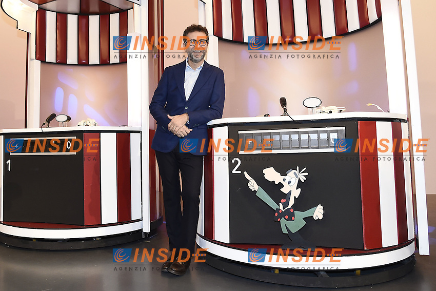 Milano 24/10/2016 - photocall trasmissione Tv ' Rischiatutto' / foto Daniele Buffa/Image/Insidefoto  <br /> nella foto: Fabio Fazio
