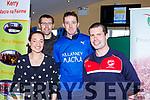 Cathriona Shanahan, Jer Foley, Robert Moriarty and Sean Joy from Killarney Macra at the Kerry Club day in Killarney Racecourse on Sunday