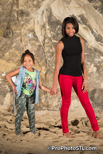 Trendy Teens and Tots Spring Break Fashion Show presented by ESG Modeling Agency at Crystal Cave in Crystal City, MO on March 16, 2014.