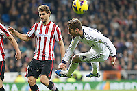 Real Madrid CF vs Athletic Club de Bilbao (5-1) at Santiago Bernabeu stadium. The picture shows Sergio Ramos and Fernando Llorente. November 17, 2012. (ALTERPHOTOS/Caro Marin) NortePhoto