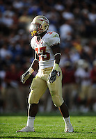Sept. 19, 2009; Provo, UT, USA; Florida State Seminoles running back (33) Ty Jones against the BYU Cougars at LaVell Edwards Stadium. Florida State defeated BYU 54-28. Mandatory Credit: Mark J. Rebilas-