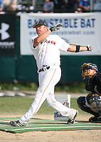 July 28th 2007:  Luke Murton during the Cape Cod League All-Star Game at Spillane Field in Wareham, MA.  Photo by Mike Janes/Four Seam Images