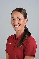STANFORD, CA - AUGUST 13, 2013 - Taylor Ungricht of the Stanford Women's Volleyball team.