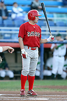 Sept. 1st, 2007:  Mike Folli of the Batavia Muckdogs, Short-Season Class-A affiliate of the St. Louis Cardinals at Dwyer Stadium in Batavia, NY.  Photo by:  Mike Janes/Four Seam Images