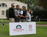 Ben Evans (ENG) and his team who won the morning Pro-Am of the Bridgestone Challenge 2017 at the Luton Hoo Hotel Golf &amp; Spa, Luton, Bedfordshire, England. 06/09/2017<br />