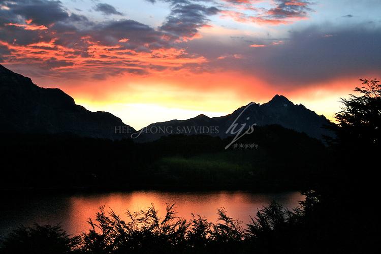 Sunset, Bariloche, Argentina | Feb 08