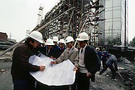 October 1984. Beijing, the construction of new district, in the east of the capital.