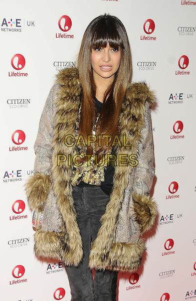 LONDON, ENGLAND - OCTOBER 29: Zara Martin   attends the Lifetime entertainment channel launch party, One Marylebone, on Tuesday October 29, 2013 in London, England, UK.<br /> CAP/CAN<br /> &copy;Can Nguyen/Capital Pictures