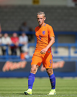 Kaj Sierhuis (Ajax) of Holland during the International match between England U19 and Netherlands U19 at New Bucks Head, Telford, England on 1 September 2016. Photo by Andy Rowland.
