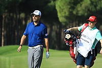 Padraig Harrington (IRL) in action during the third round of the Turkish Airlines Open, Montgomerie Maxx Royal Golf Club, Belek, Turkey. 09/11/2019<br /> Picture: Golffile | Phil INGLIS<br /> <br /> <br /> All photo usage must carry mandatory copyright credit (© Golffile | Phil INGLIS)