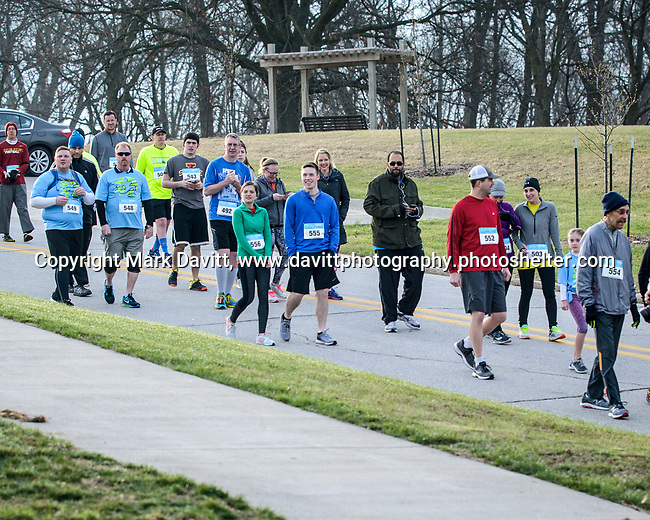 Caring Hands of Altoona in conjuction with Pleasant Hill hosted the fifth annual Springtime Hill Climb April 1. About 100 runners participated.