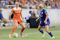Houston, TX - Saturday Sept. 03, 2016: Janine Beckie during a regular season National Women's Soccer League (NWSL) match between the Houston Dash and the Orlando Pride at BBVA Compass Stadium.