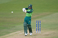 Quinton de Kock  (South Africa) pulls a short delivery to the mid wicket boundary during South Africa vs West Indies, ICC World Cup Warm-Up Match Cricket at the Bristol County Ground on 26th May 2019