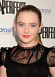 HOLLYWOOD, CA - SEPTEMBER 24: Kathryn Newton attends the 'Pitch Perfect' - Los Angeles Premiere at ArcLight Hollywood on September 24, 2012 in Hollywood, California.