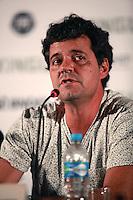SAO PAULO, 27 DE MARÇO DE 2012. ENTREVISTA COLETIVA FILME XINGU.  O ator Felipe Camargo participa da entrevista coletiva sobre o filme Xingu que conta a história dos irmãos Villas Boas e a criação do Parque Indígena do Xingu . FOTO: ADRIANA SPACA - BRAZIL PHOTO PRESS