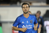 San Jose, CA - Wednesday September 27, 2017: Chris Wondolowski prior to a Major League Soccer (MLS) match between the San Jose Earthquakes and the Chicago Fire at Avaya Stadium.