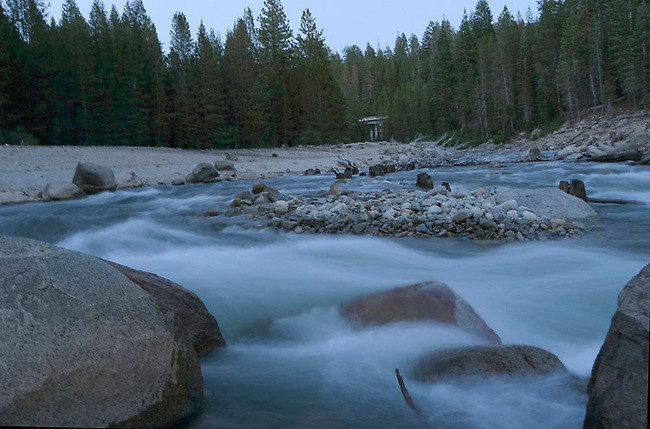 Rancheria Creek feeds Huntington Lake