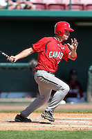 Team Canada Brendan Hendriks #19 during a game vs the Nexen Heroes at Al Lang Field in St. Petersburg, Florida;  February 28, 2011.  Canada defeated Nexen 2-0.  Photo By Mike Janes/Four Seam Images