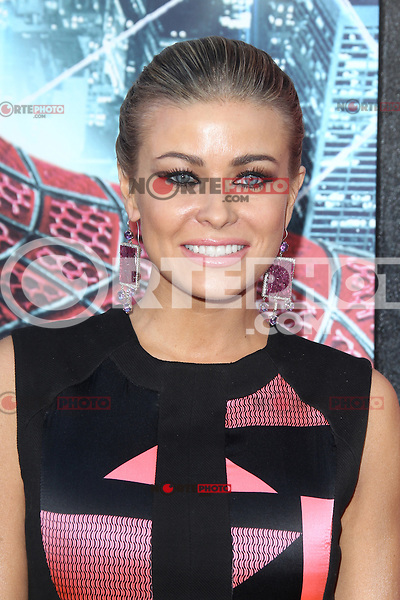 Carmen Electra at the premiere of Columbia Pictures' 'The Amazing Spider-Man' at the Regency Village Theatre on June 28, 2012 in Westwood, California. &copy; mpi22/MediaPunch Inc. *NORTEPHOTO.COM*<br />