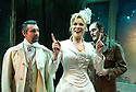 A Little Night Music,Music and Lyrics by Stephen Sondheim,Book by Hugh Wheeler, directed by Trevor Nunn. With Hannah Waddingham as Desire,Alexander Hanson as Fredrik,Alistair Robbins as Count Carl-Magnus.Opens at The Mernier Chocolate Factory Theatre on 3/12/08. CREDIT Geraint Lewis
