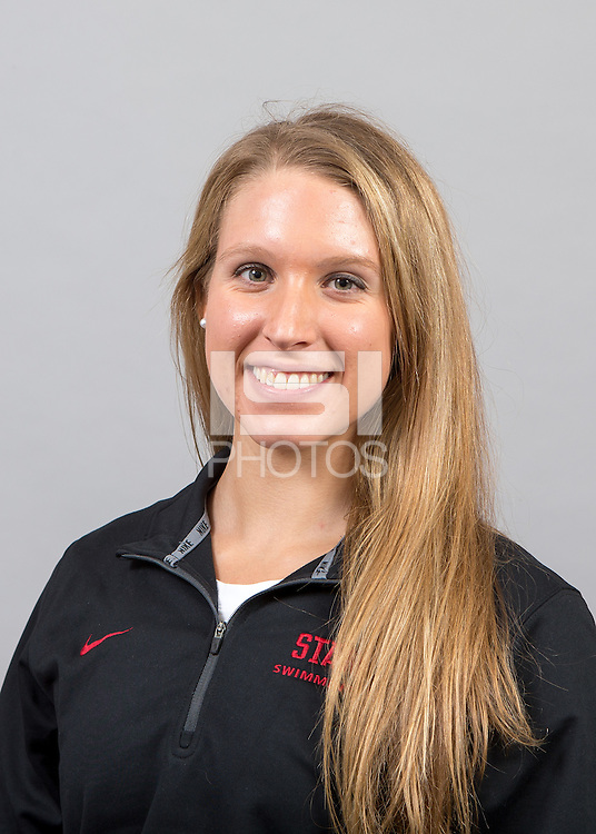Stanford, CA - October 16, 2015.  Stanford Women\'s Swimming Portraits.
