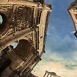 Rome, Foro Romano - Arco di Settimio Severo