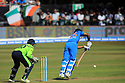 India's Shikhar Dhawan plays a shot during a T20 match between Ireland and India at the Malahide cricket club in Dublin on June 27, 2018. Photo/Paul McErlane