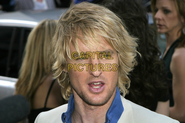 "OWEN WILSON.""The Wedding Crashers"" UK Film Premiere, .Odeon Cinema Leicester Square, .London, July 4th 2005..portrait headshot funny face mouth open.Ref: AH.www.capitalpictures.com.sales@capitalpictures.com.©Adam Houghton/Capital Pictures."