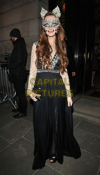 Olivia Grant at the Animal Ball 2016 hosted by the Elephant Family, Victoria House Basement, Bloomsbury Square, London, England, UK, on Tuesday 22 November 2016. <br /> CAP/CAN<br /> &copy;CAN/Capital Pictures