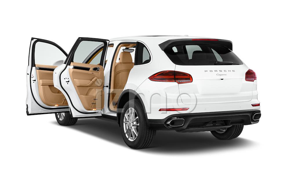 Car images of a 2017 Porsche Cayenne Diesel 5 Door SUV Doors