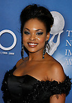 LOS ANGELES, CA. - February 12: Actress Demetria McKinney  arrives at the 40th NAACP Image Awards at the Shrine Auditorium on February 12, 2009 in Los Angeles, California.