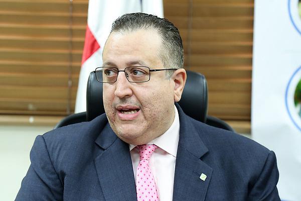 El director de Impuestos Internos, Magín Díaz