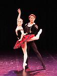 English National Ballet. Emerging Dancer competition 2013. Queen Elizabeth Hall. Ken Sarahashi, Nancy Osbaldeston.