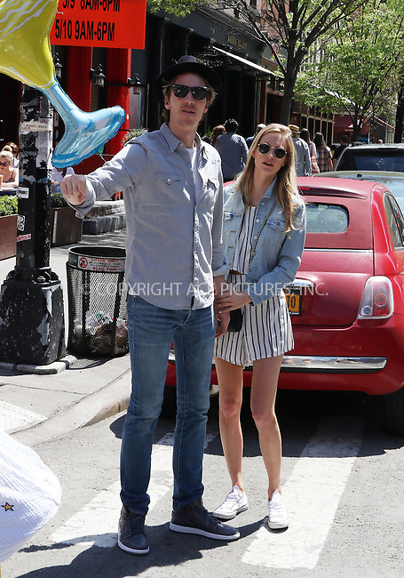 WWW.ACEPIXS.COM<br /> <br /> May 3 2015, New York City<br /> <br /> Poppy Delevingne and her husband James Cook celebrate her 29th birthday in Downtown Manhattan on May 3 2015 in New York City<br /> <br /> By Line: Zelig Shaul/ACE Pictures<br /> <br /> <br /> ACE Pictures, Inc.<br /> tel: 646 769 0430<br /> Email: info@acepixs.com<br /> www.acepixs.com