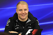 5th October 2017, Suzuka Circuit, Suzuka, Japan; Japanese Formula One Grand Prix, Thursday Setup and Press Conference; Valtteri Bottas - Mercedes AMG Petronas F1 Team
