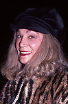 Sylvia Miles attends an opening on March 21, 1983 in New York City.