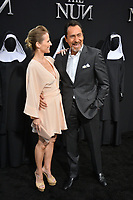 "LOS ANGELES, CA. September 04, 2018: Demian Bichir & Stefanie Sherk at the world premiere of ""The Nun"" at the TCL Chinese Theatre, Hollywood."