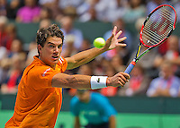 Switserland, Genève, September 18, 2015, Tennis,   Davis Cup, Switserland-Netherlands, Jesse Huta Galung (NED)<br />