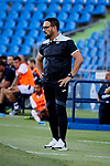 Getafe CF's coach Jose Bordalas during Preseason match between Getafe CF and Crotone FC at Colisseum Alfonso Perez in Getafe, Spain. August 02, 2019. (ALTERPHOTOS/A. Perez Meca)