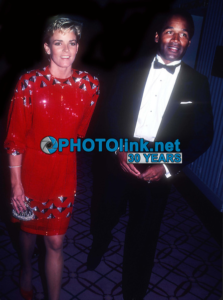 OJ Simpson Nicole Simpson 1984<br /> Photo By John Barrett/PHOTOlink