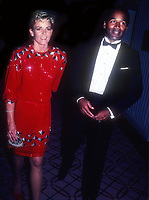 OJ Simpson Nicole Simpson 1984<br /> Photo By John Barrett/PHOTOlink